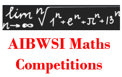 AIBWSI Maths Competitions 2020-21: Maths Story Writing Competition for Y6-Y8 students